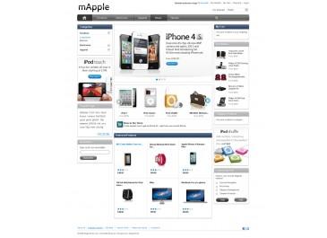 Magento 仿苹果官网-Iphone-Apple