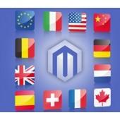 magento 国家语言自动切换